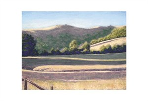 """Barbara Lawrence Signed and Numbered Limited Edition Giclée on Somerset Velvet Paper:""""Flander's Ranch II"""""""