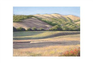 "Barbara Lawrence Signed and Numbered Limited Edition Giclée on Somerset Velvet Paper:""Flander's Ranch III"""