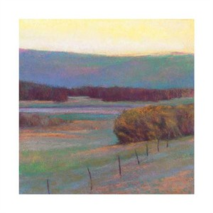 """Ken Elliott Signed and Numbered Limited Edition Giclée on Somerset Velvet Paper:""""View to the Green Hill"""""""