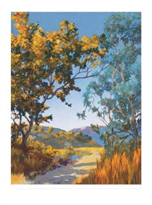 """Donald Munz Signed and Numbered Limited Edition Giclée on Somerset Velvet Paper:""""Sycamore Canyon"""""""