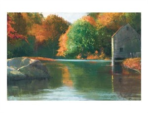 "Gil Dellinger Signed and Numbered Limited Edition Giclée on Somerset Velvet Paper:""Autumn Glory"""
