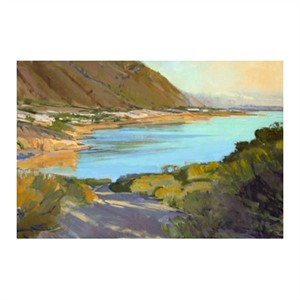 "Marcia Burtt Signed and Numbered Limited Edition Giclée on Hahnemuhle paper:""Late Sun - Shell Beach"""