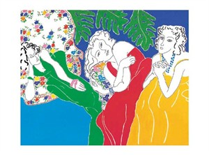 "Yvonne Maloney Signed and Numbered Limited Edition Giclée on Somerset Velvet Paper:""Lydia and her Sisters"""
