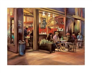 "Carol Jessen Signed and Numbered Limited Edition Giclée on Somerset Velvet Paper:""The Poets"""