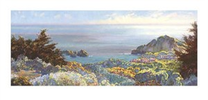 "Lois Johnson Signed and Numbered Limited Edition Giclée on Museo Paper:""North Coast II"""