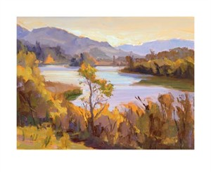 """Camille Przewodek Signed and Numbered Limited Edition Giclée on Paper:""""Spring Lake"""""""