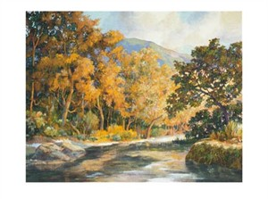 "Donald Munz Signed and Numbered Limited Edition Giclée on Somerset Velvet Paper:""A Resting Place"""