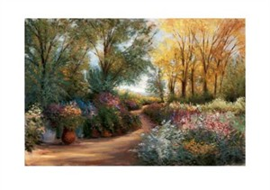 "Gregory Wilhelmi Signed and Numbered Limited Edition Giclée on Somerset Velvet Paper:""Potomac Gardens"""