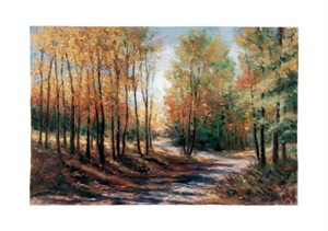 "Gregory Wilhelmi Signed and Numbered Limited Edition Giclée on Crane Museo Paper:""Country Road"""