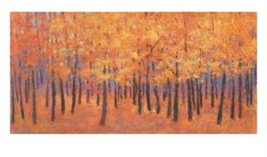 "Ken Elliott Signed and Numbered Limited Edition Giclée on Crane Museo Paper:""Autumn Light"""