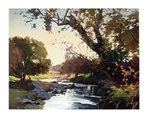 "Ray Roberts Signed and Numbered Limited Edition Giclée on Paper:""The Old Sycamore"""