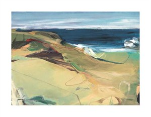 """Barbara Rainforth Signed and Numbered Limited Edition Giclée on William Turner Paper:""""Beach Horizon #7"""""""