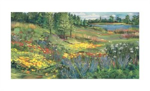"Carol Rowan Signed and Numbered Limited Edition Giclée on William Turner Paper:""On A Summer's Day"""