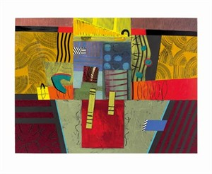 """Janet O'Neal Signed and Numbered Limited Edition Giclée on William Turner Paper:""""Sanctum II"""""""