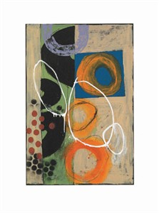"Todd Camp Signed and Numbered Limited Edition Giclée on William Turner Paper:""Circular Sequence VII"""