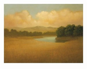 "Donna McGinnis Signed and Numbered Limited Edition Giclée on William Turner Paper:""Sonoma Mountain"""