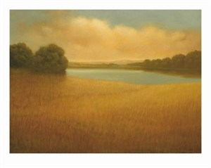 "Donna McGinnis Signed and Numbered Limited Edition Giclée on William Turner Paper:""Lake Sonoma"""