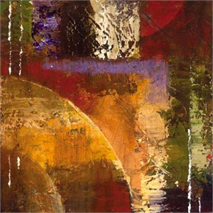 "Bruce Marion Signed and Numbered Limited Edition Giclée on Somerset Velvet with enhancement Paper:""Textura Rising #2"""