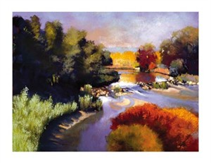 "Dennis Rhoades Signed and Numbered Limited Edition Giclée on William Turner Paper:""Morning Light"""