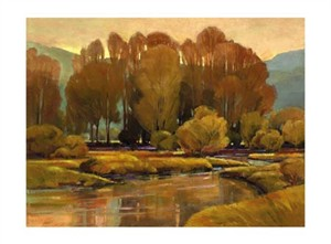"""Mac Stevenson Signed and Numbered Limited Edition Giclée on Somerset Velvet Paper:""""Sienna Autumn"""""""