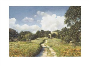 "Paul Fortis Signed and Numbered Limited Edition Giclée on Somerset Velvet Paper:""Enchanted Valley"""