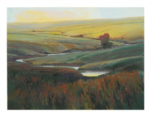 "Kim Casebeer Signed and Numbered Limited Edition  Giclée on William Turner Paper:""To Make A Prairie, Part I"""
