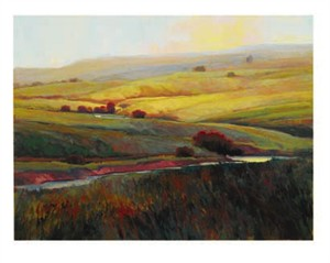 "Kim Casebeer Signed and Numbered Limited Edition  Giclée on William Turner Paper:""To Make A Prairie, Part II"""