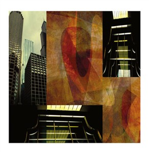 "Peter Kitchell Signed and Numbered Limited Edition Giclée on Somerset Velvet Paper:""Light and Steel #14"""