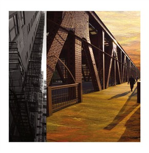 """Peter Kitchell Signed and Numbered Limited Edition Giclée on Somerset Velvet Paper:""""Light and Steel #23"""""""