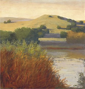 """David Skinner Signed and Numbered Limited Edition Giclée on Somerset Velvet Paper:""""Creekside View"""""""