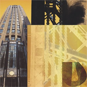 "Peter Kitchell Signed and Numbered Limited Edition Giclée on Somerset Velvet Paper:""Light and Steel #12"""