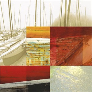 "Peter Kitchell Signed and Numbered Limited Edition Giclée on Somerset Velvet Paper:""Light and Steel #24"""