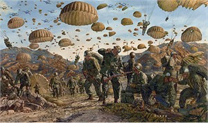 """James Dietz Handsigned and Numbered Limited Edition Print: """"Let Valor Not Fail"""""""