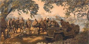 """James Dietz Handsigned and Numbered Limited Edition Print:""""Home from the Hill"""""""