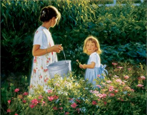 """Robert Duncan Hand Signed and Numbered Limited Edition Canvas Giclee:""""Little Miss Sunshine"""""""