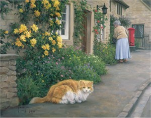 """Robert Duncan Hand Signed and Numbered Limited Edition Canvas Giclee:""""Companions"""""""