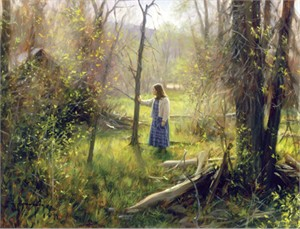 """Robert Duncan Hand Signed and Numbered Limited Edition Canvas Giclee:""""Wandering"""""""