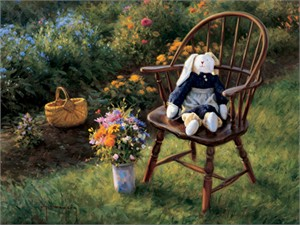 """Robert Duncan Hand Signed and Numbered Limited Edition Canvas Giclee:""""Summertime"""""""