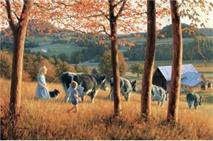 """Robert Duncan Hand Signed and Numbered Limited Edition Canvas Giclee:""""Fall in the Kingdom"""""""