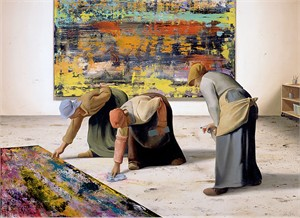 """Ben Steele Hand Signed and Numbered Limited Edition Gallery Wrap Canvas Giclee:""""The Cleaners"""""""