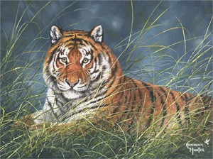 "Abraham Hunter Hand Signed and Numbered Limited Edition Embellished Canvas Giclee:""Heart of a Champion"""