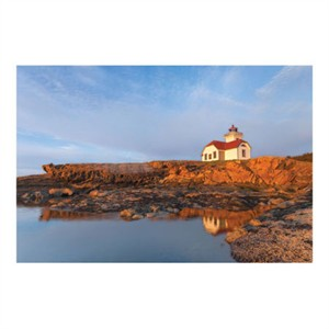"""Donald Paulson Signed and Numbered Limited Edition Custom Sized Gicl�e on Paper or Canvas: """"Patos Island Lighthouse III"""""""