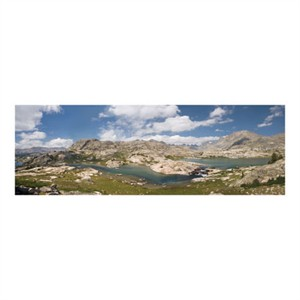 """Donald Paulson Signed and Numbered Limited Edition Custom Sized Gicl�e on Paper or Canvas: """"Wind River Range Basin"""""""