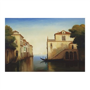 "Robert White Signed and Numbered Limited Edition Custom Sized Gicl�e on Paper or Canvas: ""Seaside on the Amalfi Coast"""