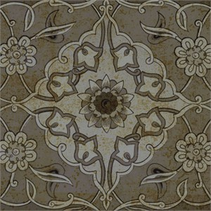 "Paula Scaletta Signed and Numbered Limited Edition Custom Sized Gicl�e on Paper or Canvas: ""Vintage Tile III"""