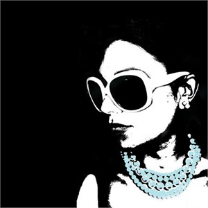 """MJ Lew Signed and Numbered Limited Edition Custom Sized Gicl�e on Paper or Canvas: """"Glam IV"""""""