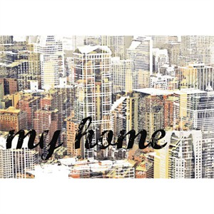 "MJ Lew Signed and Numbered Limited Edition Custom Sized Gicl�e on Paper or Canvas: ""My Home"""