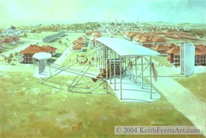 "Keith Ferris Open Edition :""Gallant Beginning"""