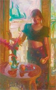 "John Asaro Limited Edition Iris Graphic: "" Romanticism """
