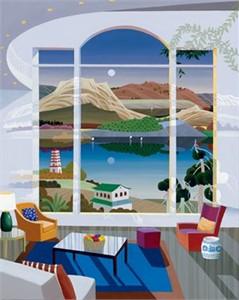 "Datian Limited Edition Iris Graphic: "" Dreamscape """
